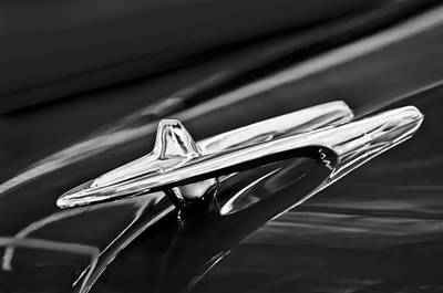 1955 Desoto Hood Ornament 4 Art Print by Jill Reger