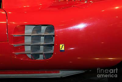 Photograph - 1955 Ferrari 750 Monza Scaglietti Spider Dsc2661 by Wingsdomain Art and Photography