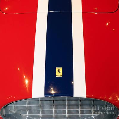 Photograph - 1955 Ferrari 750 Monza Scaglietti Spider Dsc2664 Sq by Wingsdomain Art and Photography