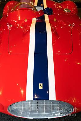 Photograph - 1955 Ferrari 750 Monza Scaglietti Spider Dsc2665 by Wingsdomain Art and Photography