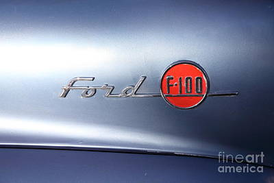 Photograph - 1955 Ford F100 Truck 5d26349 by Wingsdomain Art and Photography