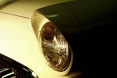 Photograph - 1955 Ford Thunderbird by Wes Jimerson