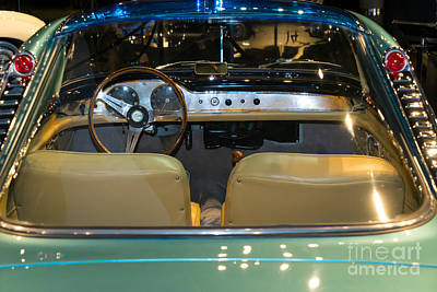 Photograph - 1958 Lancia Nardi Blue Ray II Dsc2672 by Wingsdomain Art and Photography