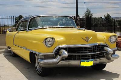 1955 Mellow Yellow Caddy Original by Steven Parker