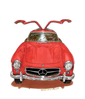 1955 Mercedes Benze 300 S L  Original by Jack Pumphrey