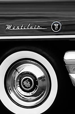 Photograph - 1955 Mercury Montclair Convertible Wheel Emblem by Jill Reger