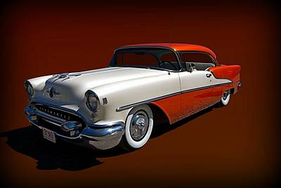 Photograph - 1955 Oldsmobile  88 by Tim McCullough