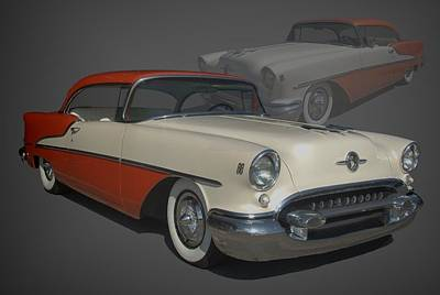 Photograph - 1955 Oldsmobile by Tim McCullough