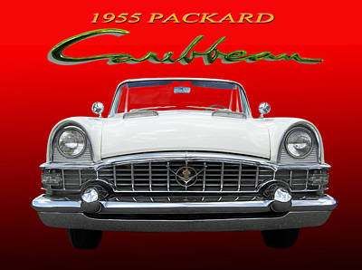Photograph - 1955 Packard Caribbean Convertible by Jack Pumphrey