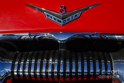Photograph - 1955 Plymouth V8 by Dennis Hedberg