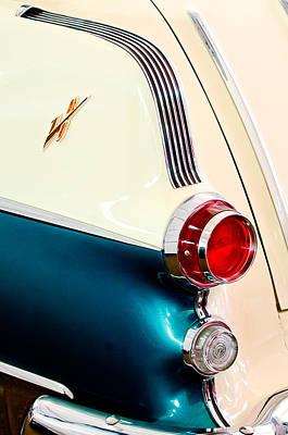 Photograph - 1955 Pontiac Safari Taillight by Jill Reger