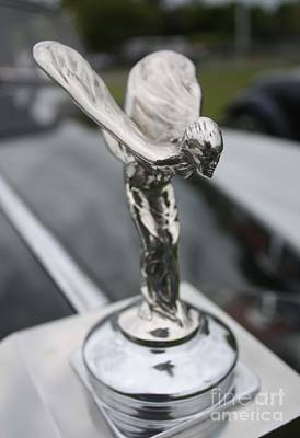 Photograph - 1955 Rolls Royce Hood Ornament by John Telfer