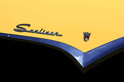 Photograph - 1955 Sunliner by Joe Kozlowski