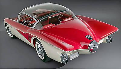 1956 Buick Centurion Concept Art Print