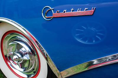 Photograph - 1956 Buick Special Hardtop Wheel Emblem by Jill Reger