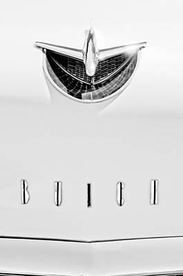 Buick Emblem Photograph - 1956 Buick Special Hood Ornament - Emblem by Jill Reger