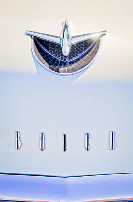 Buick Photograph - 1956 Buick Special Hood Ornament by Jill Reger