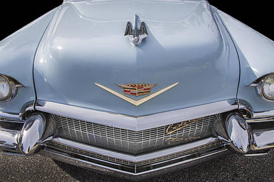 Photograph - 1956 Cadilac Sedan De Ville Smiling by Rich Franco