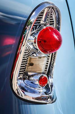 Wagon Photograph - 1956 Chevrolet 210 2-door Handyman Wagon Taillight -082c by Jill Reger
