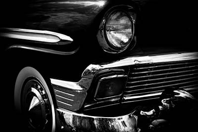 Street Rod Photograph - 1956 Chevrolet Bel Air by David Patterson