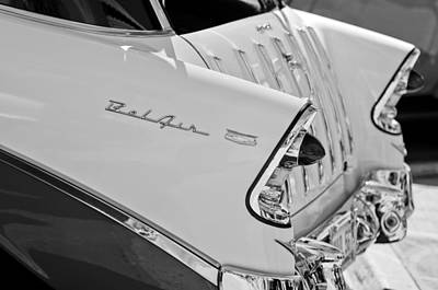 1956 Chevrolet Belair Nomad Rear End Taillights Art Print by Jill Reger