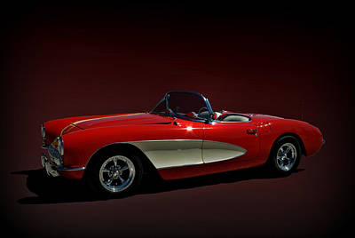 Photograph - 1956 Chevrolet Corvette by Tim McCullough