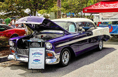 Photograph - 1956 Chevy Bel Air by Chris Anderson
