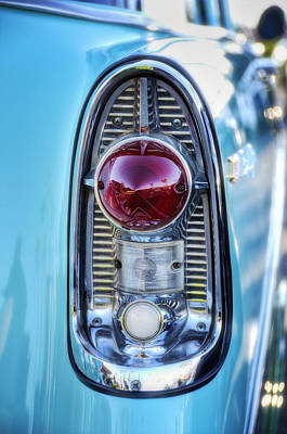 Photograph - 1956 Chevy Bel-air Taillight  by Saija  Lehtonen