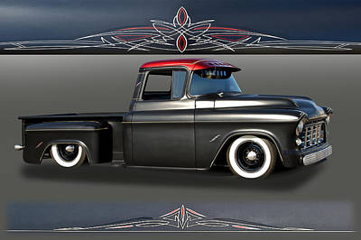 Aromatherapy Oils - 1956 Chevy Low-Rider Pick Up by Dave Koontz