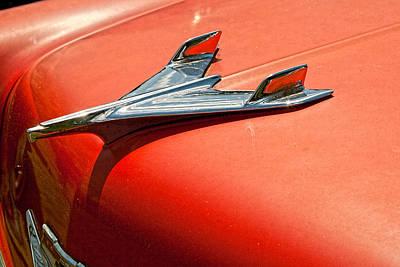 Photograph - 1956 Chevy Sedan IIi by Kristia Adams