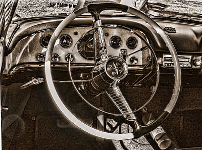 Photograph - 1956 Desoto Dash by Ron Roberts