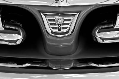 Lancer Photograph - 1956 Dodge Royal Lancer Grille Emblem by Jill Reger