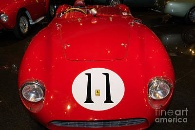 Photograph - 1956 Ferrari 625 Le Mans Spyder Dsc2538 by Wingsdomain Art and Photography