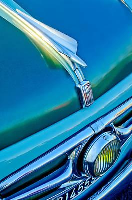 Photograph - 1956 Fiat 600 Elaborata Hood Ornament by Jill Reger