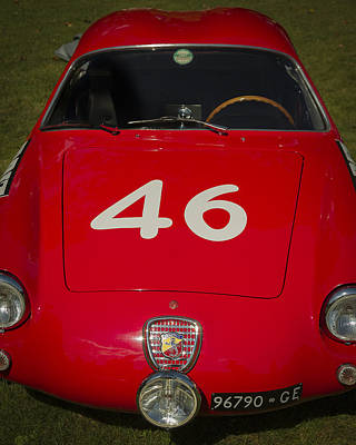 Photograph - 1956 Fiat Abarth by Jack R Perry