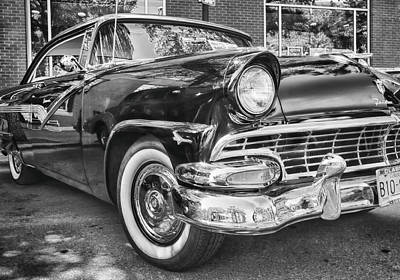 Photograph - 1956 Ford Fairlane by Theresa Tahara