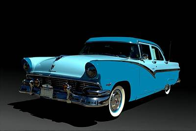 Photograph - 1956 Ford Fairlane by Tim McCullough