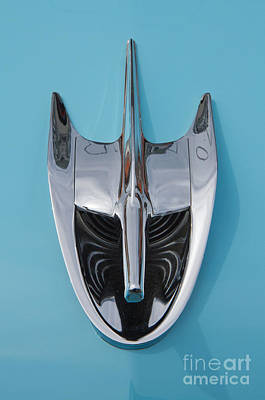 Photograph - 1956 Ford Hood Ornament by Kevin McCarthy