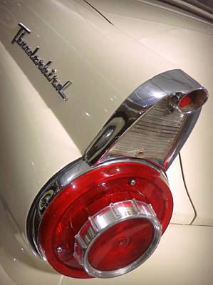 Photograph - 1956 Ford Thunderbird by Joseph Skompski
