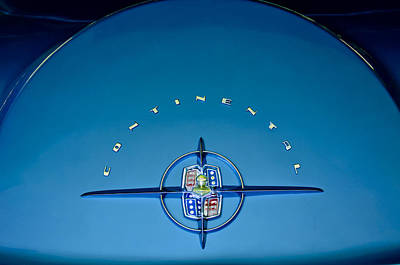 Lincoln Photograph - 1956 Lincoln Continental Mark II Emblem by Jill Reger