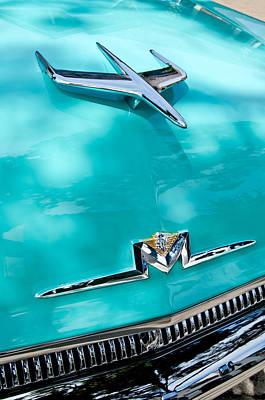 Photograph - 1956 Mercury Monterey Hood Ornament - Emblem by Jill Reger