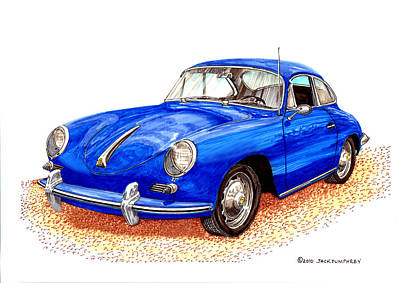 Porsche 356 Original by Jack Pumphrey