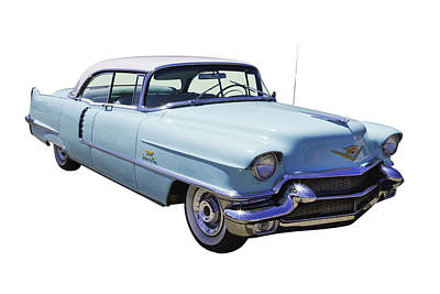 Photograph - 1956 Sedan Deville Cadillac Luxury Car by Keith Webber Jr