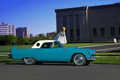 Photograph - 1956 Thunderbird by TeeMack