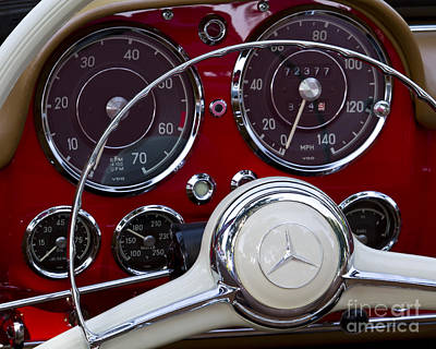 Photograph - 1957 190 Sl by Dennis Hedberg