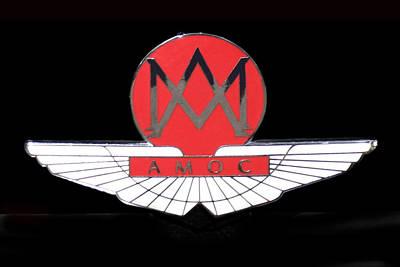 1957 Aston Martin Badge Logo Art Print
