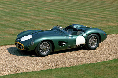 Historic Car Photograph - 1957 Aston Martin Dbr2 4.2 Litre V12 by Panoramic Images