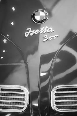 Photograph - 1957 Bmw Isetta Emblem by Jill Reger