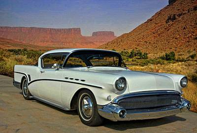 Photograph - 1957 Buick Street Rod by Tim McCullough