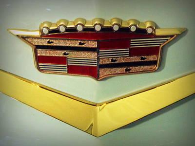 Photograph - 1957 Cadillac Eldorado Emblem by Joseph Skompski